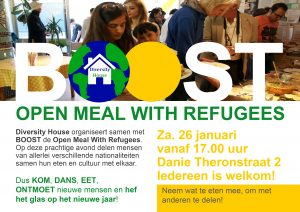 Open Meal With Refugees @ BOOST