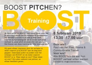 BOOST Pitch Training