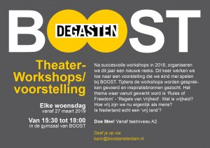 Theaterworkshop door DEGASTEN